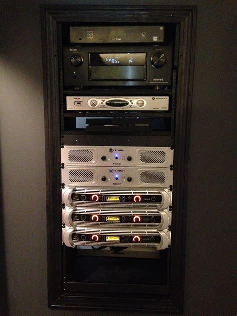 diy amp rack pic heavy avs forum home theater