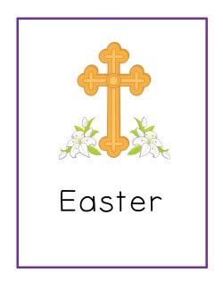 Religious Easter Card Templates by Bible