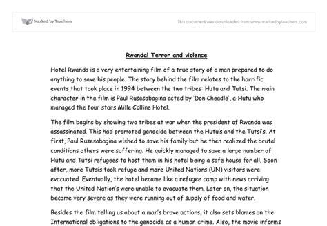 Genocide In Rwanda Essay by Genocide In Rwanda Essay