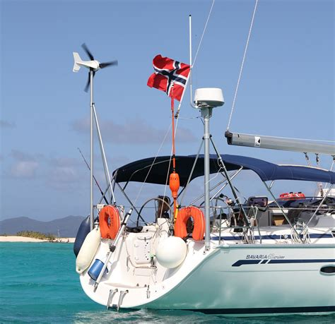 yacht generator boats and yachts wind turbines leading edge turbines