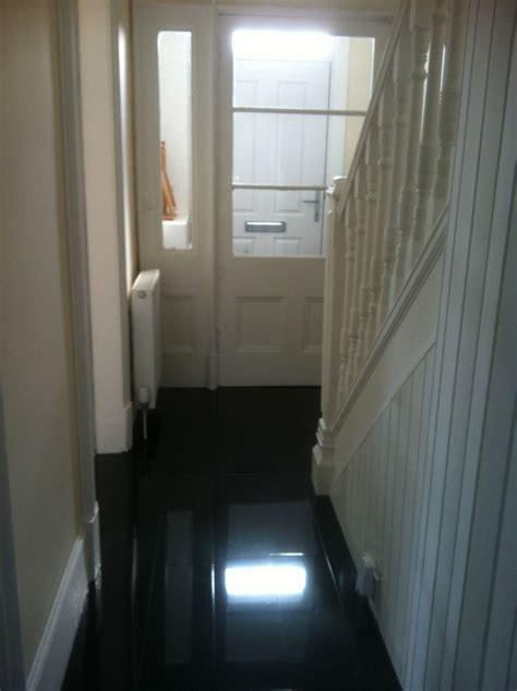 High Gloss Designer Black   Floorless Floors