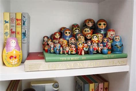 7 Ways To Get In On The Matryoshka Doll Trend by Cool Way To Display Nesting Dolls Via A Beautiful Mess