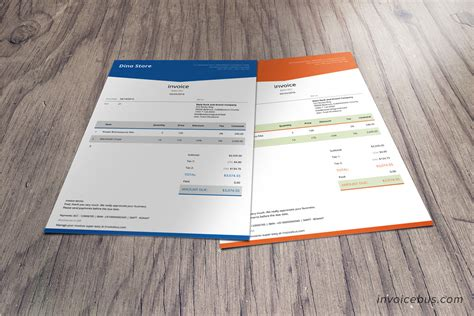 Html Invoice Template Lope Html Invoice Template