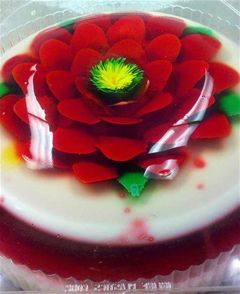 html jello layout edible art