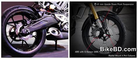 Shock Honda Cb150r honda cb150r exmotion feature review bikebd