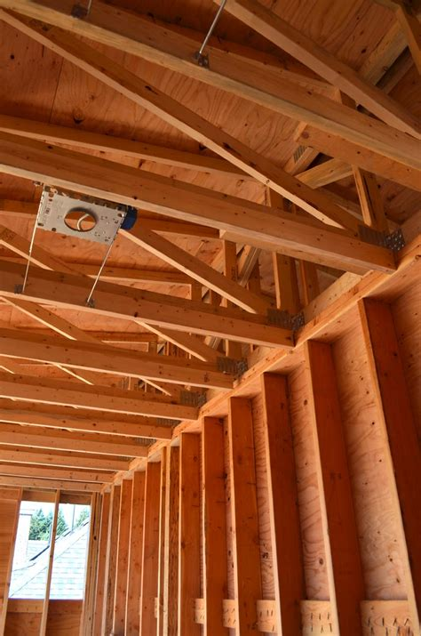 Wood Frame Ceiling by Dunbar House Framing 171 Home Building In Vancouver