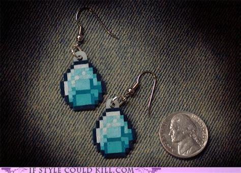 minecraft earrings earrings earrings minecraft