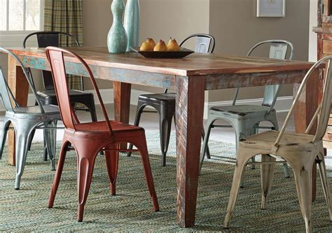 keller multi color dining table from coaster coleman