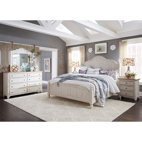 Farmhouse Bedroom Set by Liberty Furniture Farmhouse Reimagined Bedroom
