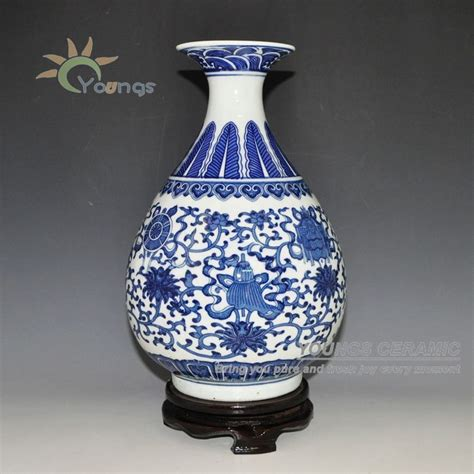 White Flower Vases Wholesale by Aliexpress Buy Jingdezhen Blue And White Ceramic