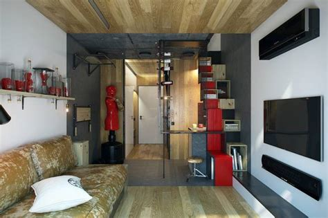 200 sq ft living room weightlifter s 200 sq ft micro apartment boasts some clever space saving ideas treehugger