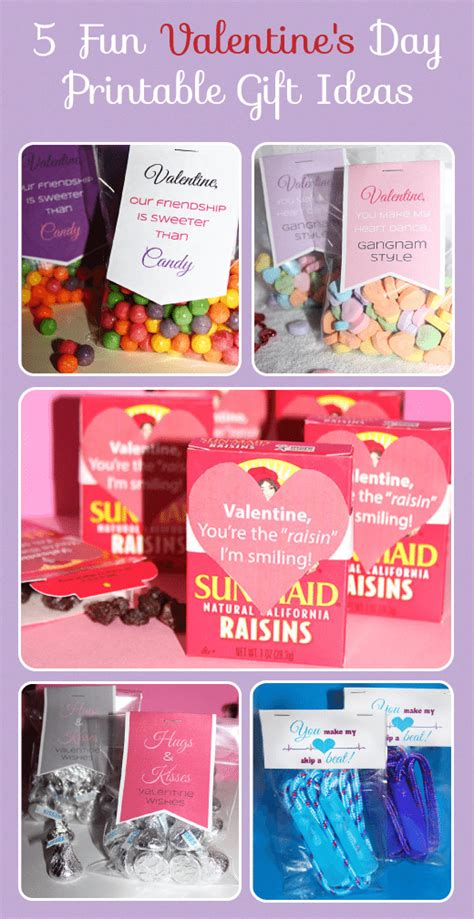 5 Fantastic Valentines Day Gift Ideas by 5 S Day Printable Gift Ideas Homemaking Hacks
