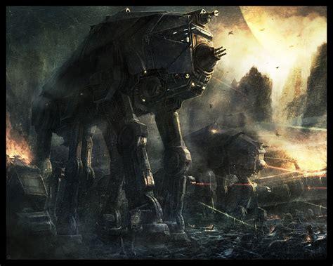 1144 At St Starwars Empire Armed Armor Walker Vehicle Deagostini imperial walker by radojavor on deviantart