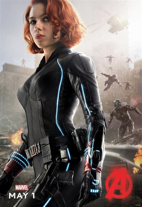 black widow movie avengers age of ultron poster with black widow