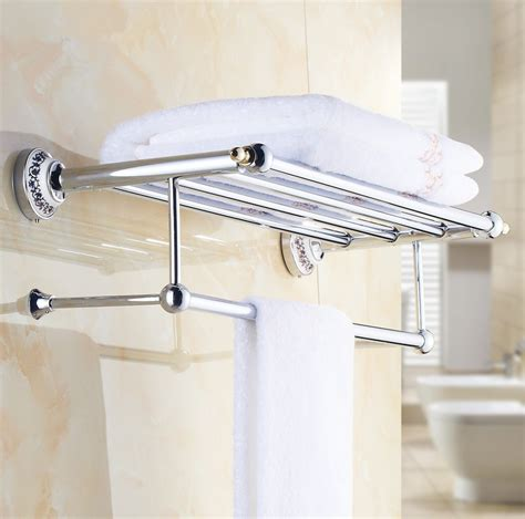 Design Ideas For Ceramic Towel Bar 2016 Luxury Chrome Design Towel Rack Modern Bathroom