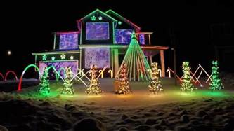 trista lights 2016 christmas light show featured on abc