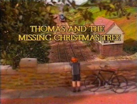 thomas and the missing christmas tree christmas specials