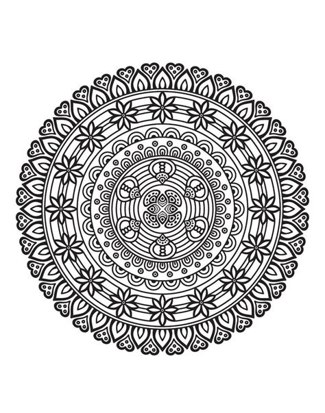 mindful mandalas a mandala 153330033x 156 best mandala images on coloring books coloring and coloring pages
