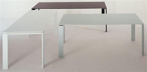 Kartell Table L Four Table Alu L 158 Cm 158 Cm By Kartell