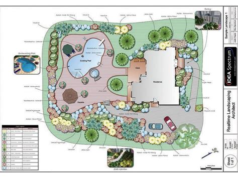 backyard landscape design templates free download visio backyard deck stencil
