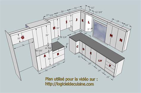 plans de cuisines logiciel pour dessiner plan cuisine gratuit