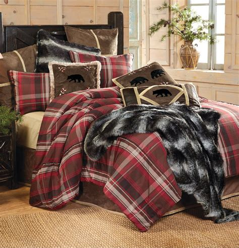 cabin bedding rustic home decor bedding