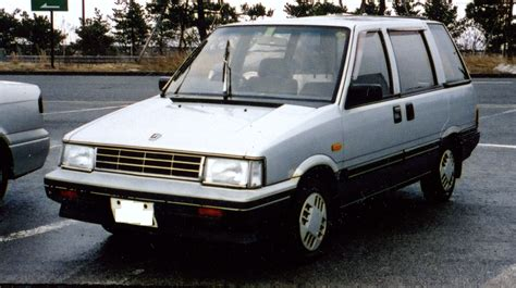 Nissan Axxess by 1990 Nissan Axxess Information And Photos Zombiedrive