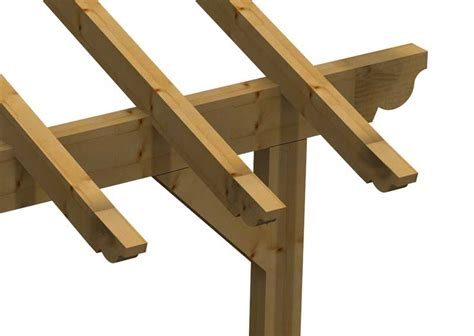 montaggio tettoia in legno tetto tettoia porticato in lamellare a l esterno
