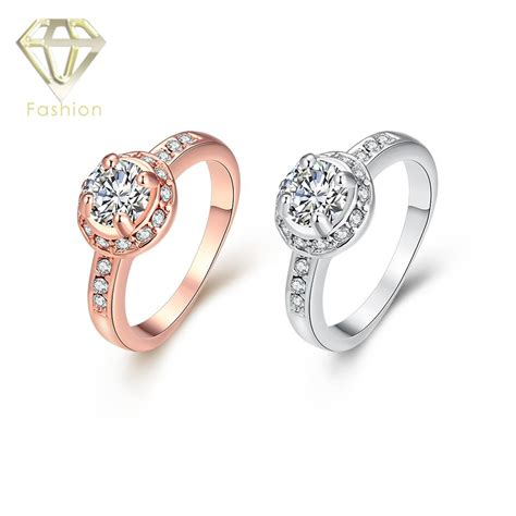 moonstone ring high quality aaa cubic zirconia