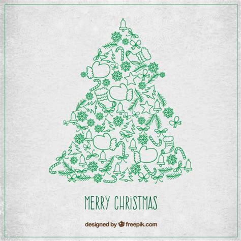 arbol de navidad vector 193 rbol de navidad con detalles verdes descargar vectores