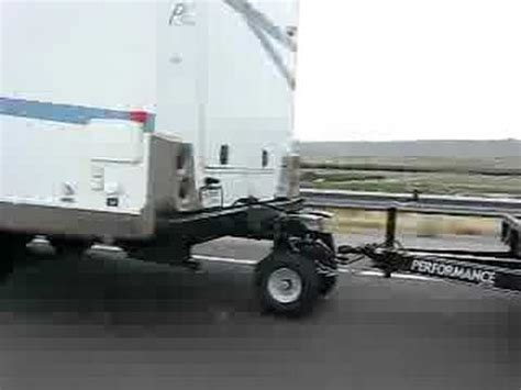 living on a boat vs rv the hitch hog double towing a rock crawler youtube