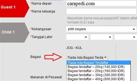 cara naik pesawat air asia cara hemat beli tiket pesawat air asia secara online