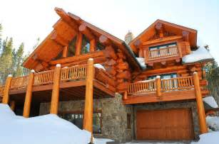 pioneer homes pioneer log homes of b c breckenridge rustic exterior