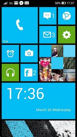 Themes Launcher 8 | windows 8 for android techbee
