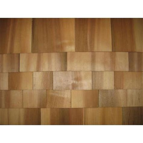 Wood Shingles Home Depot by 18 In Do It Yourself Western Cedar Shingles 235464