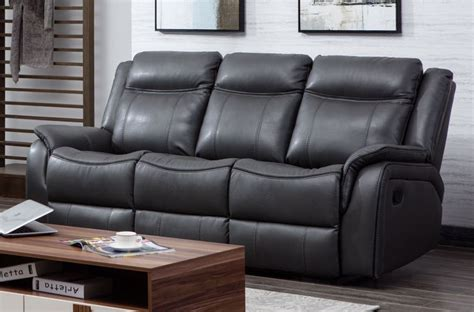 recliner suites leather ohio leather recliner suite 3 2 grey