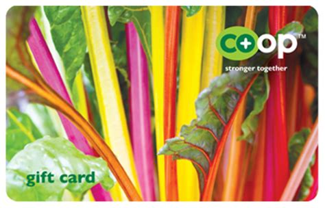 Rainbow Gift Card Check Balance - co op stronger together gift cards national co op grocers