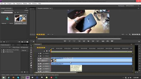 adobe premiere pro remove audio 3 methods of removing audio from video clip on adobe