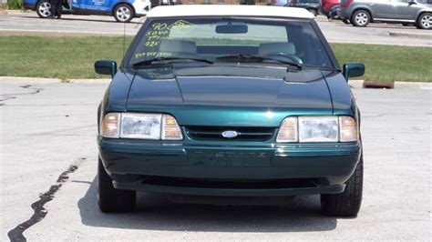 1990 mustang 5 0 7 up special 1990 ford mustang lx 5 0 convertible 7 up edition only