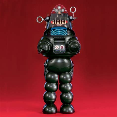 the genuine 7 foot robby the robot hammacher schlemmer opiniones de robby el robot
