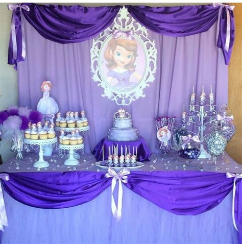 Princess Sofia Decorations by Sofia The Theme Source Instagram Themed