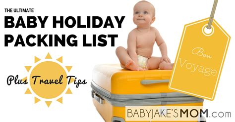 Pdf Go Ultimate Jake Neistat by The Ultimate Baby Packing List Baby Jake S
