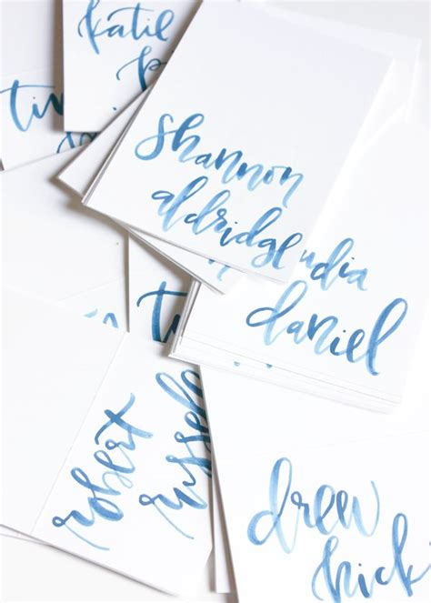 brush lettering tutorial watercolor watercolor calligraphy fonts letters pinterest