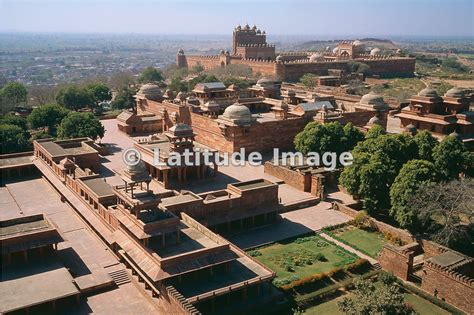 Floor Layout latitude image fatehpur sikri aerial photos