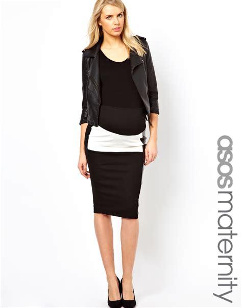 pencil skirt and crop top dress pattern