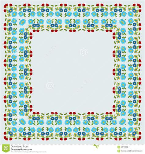 i fiori semplici fondo con i fiori semplici illustrazione vettoriale