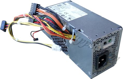 b and p l supply dell l235p 01 235 watt power supply