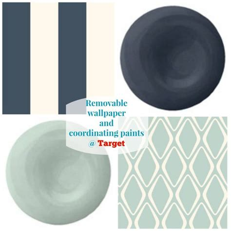 removable wallpaper target target divine color removable wallpaper decorating