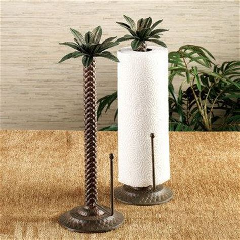 tree holder paper towel holders towel holders and palm trees on