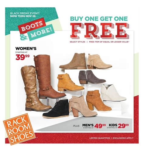 Rack Room Shoes Black Friday Hours by Rack Room Shoes Black Friday 2018 Ads Deals And Sales